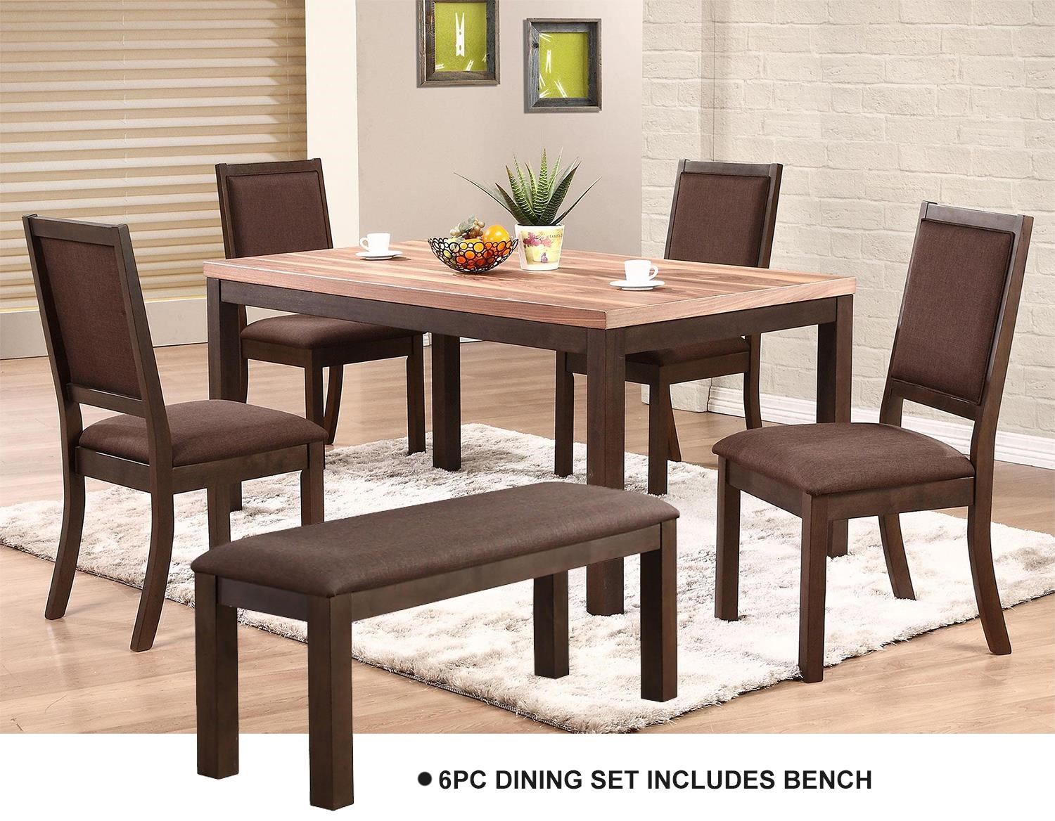 Corsica 6 Piece Dining Room Set at Rotmans