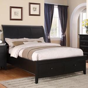 Full 2-Drawer Storage Bed