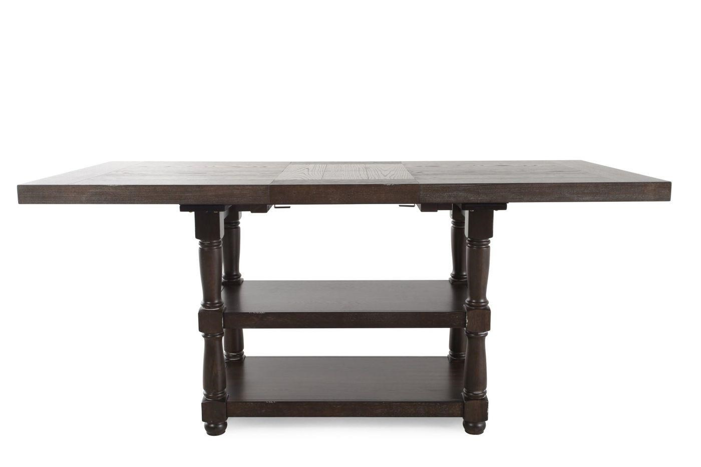 """Tall Table w/ 18"""" Butterfly Leaf"""