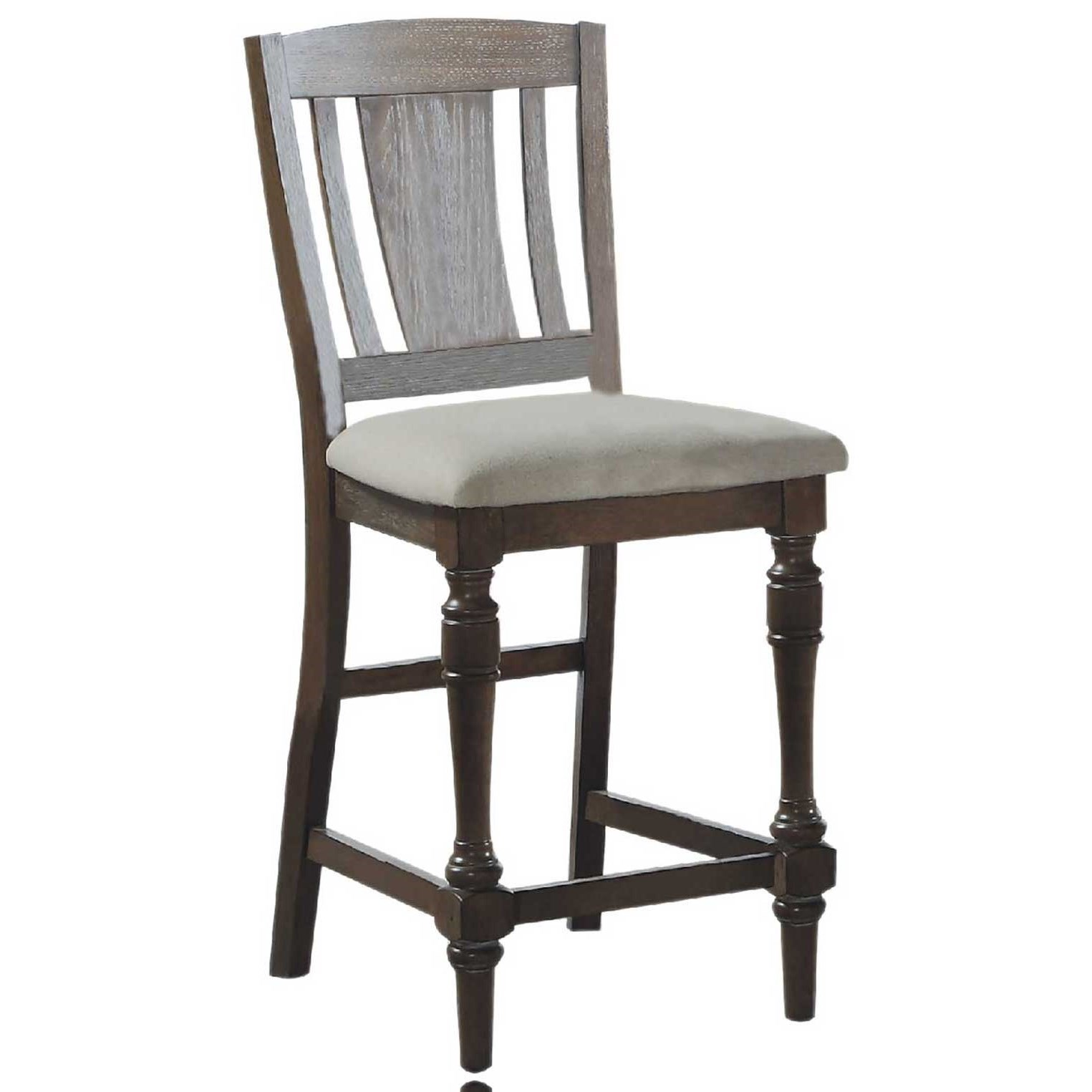 Xcalibur Slat Back Barstool by Winners Only at Gill Brothers Furniture