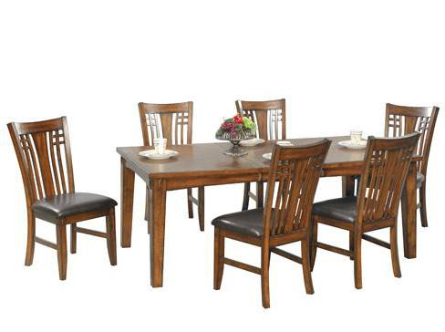 Zahara 7 Piece Dining Table and Chair Set by Winners Only at Simply Home by Lindy's