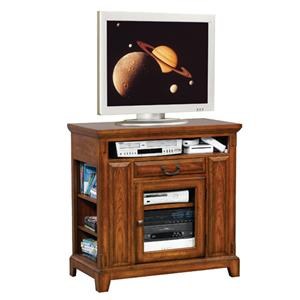 "Casual 36"" Media Base with Adjustable Side Shelving"
