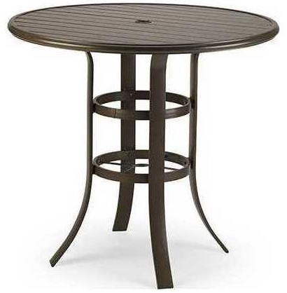 Cast Aluminum Tables 42 Inch Bar Table by Winston at Johnny Janosik