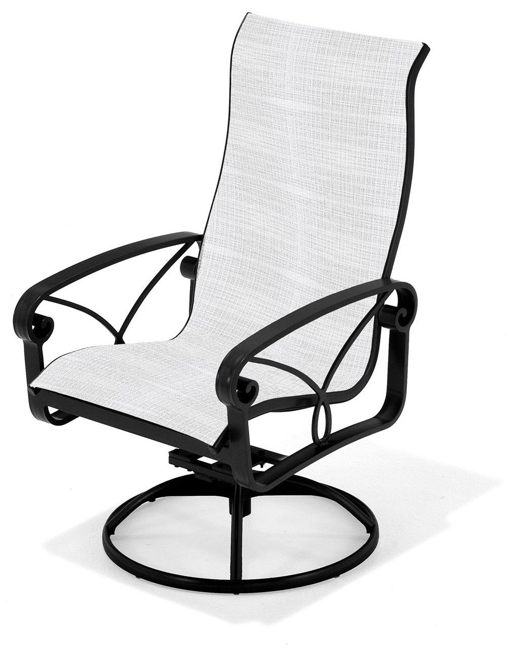 Palazzo Sling Ultra High Back Swivel Chair by Winston at Johnny Janosik