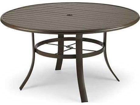 Savoy HQ 48 inch Dining Table Base, Top by Winston at Johnny Janosik