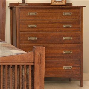 Witmer Furniture Heartland 5-Drawer Chest