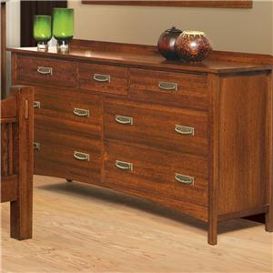 Witmer Furniture Heartland 7-Drawer Dresser