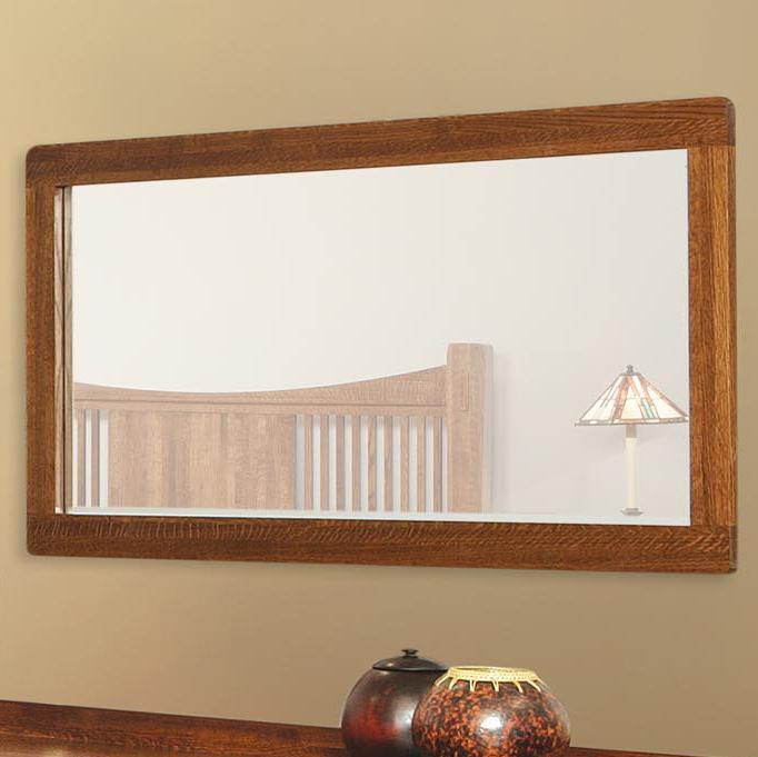 Heartland Landscape Mirror  by Witmer Furniture at Mueller Furniture