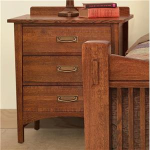 Witmer Furniture Heartland 3-Drawer Night Stand