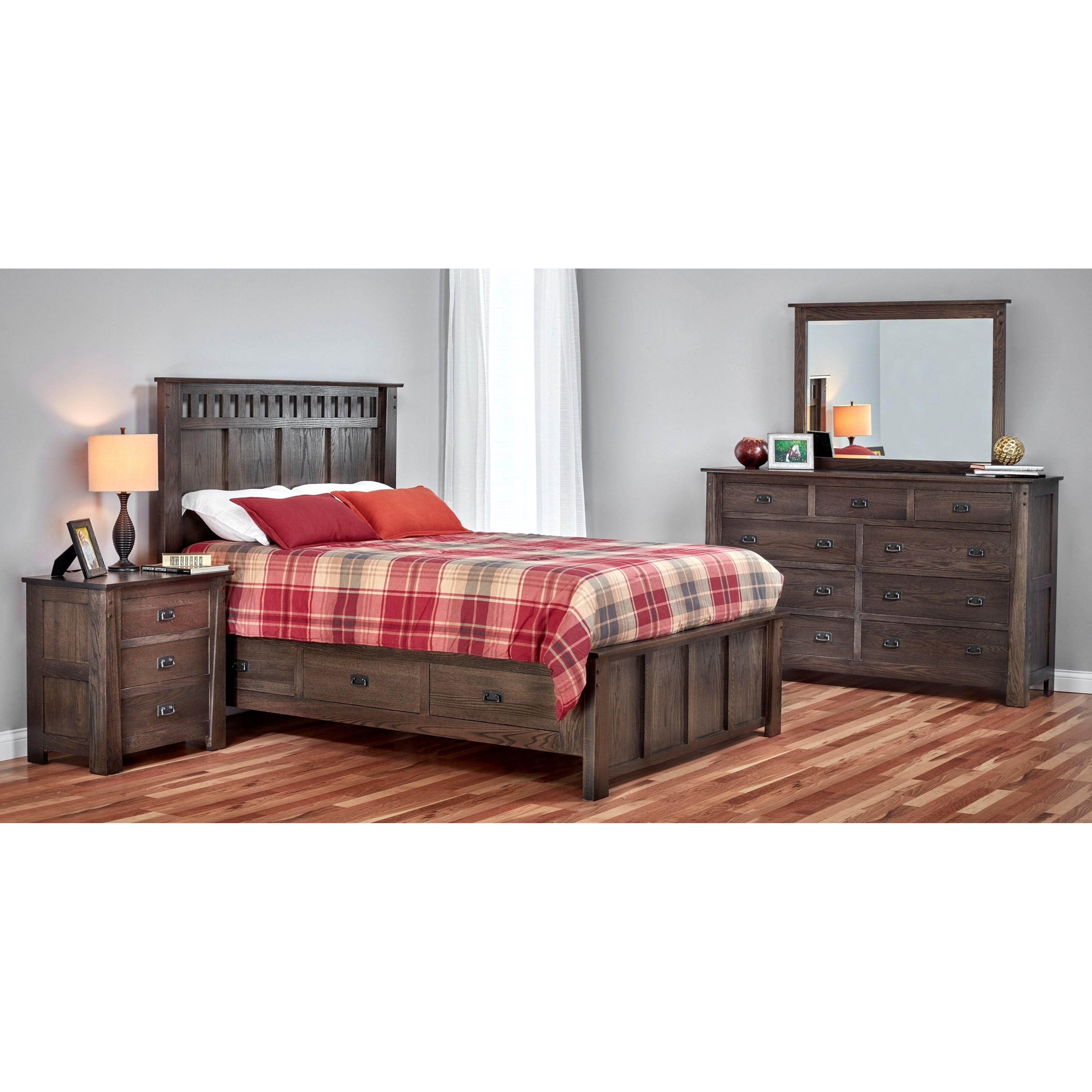 Kennan King Bedroom Group by Witmer Furniture at Mueller Furniture