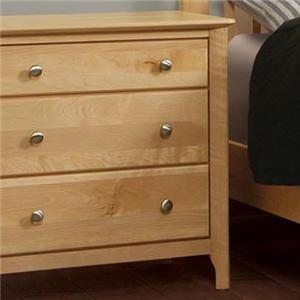 Witmer Furniture Stratford 3-Drawer Night Stand