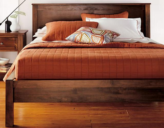 Taylor J Full Size 2 Panel Tall Platform Bed by Witmer Furniture at Mueller Furniture