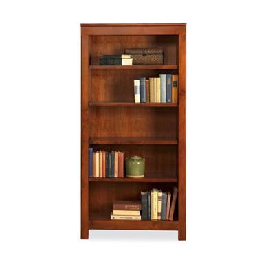 Taylor J 4-Shelf Bookcase by Witmer Furniture at Mueller Furniture