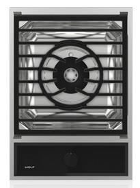 "Wolf Gas Cooktops 15"" Built-In Multi-Functional Gas Cooktop"