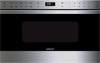 """Microwaves 24"""" Drawer Microwave Drawer by Wolf at Furniture and ApplianceMart"""