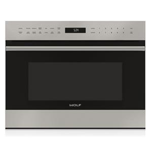 "Wolf Microwaves 24"" E-Series Drop-Down Door Microwave Oven"