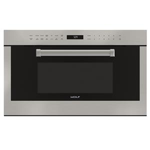 "Wolf Microwaves 30"" M Series Professiona Dropdown Microwave"