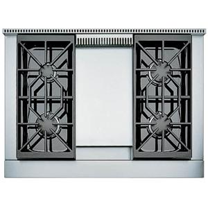 "36"" Built-In Gas Rangetop with 4 Sealed Burners and Griddle"