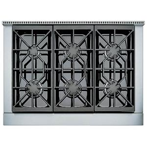 "36"" Built-In Gas Rangetop with 6 Sealed Burners"