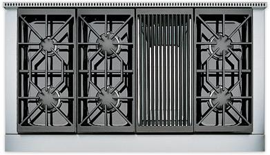 """Sealed Burner Rangetops 48"""" Built-In Gas Rangetop by Wolf at Furniture and ApplianceMart"""