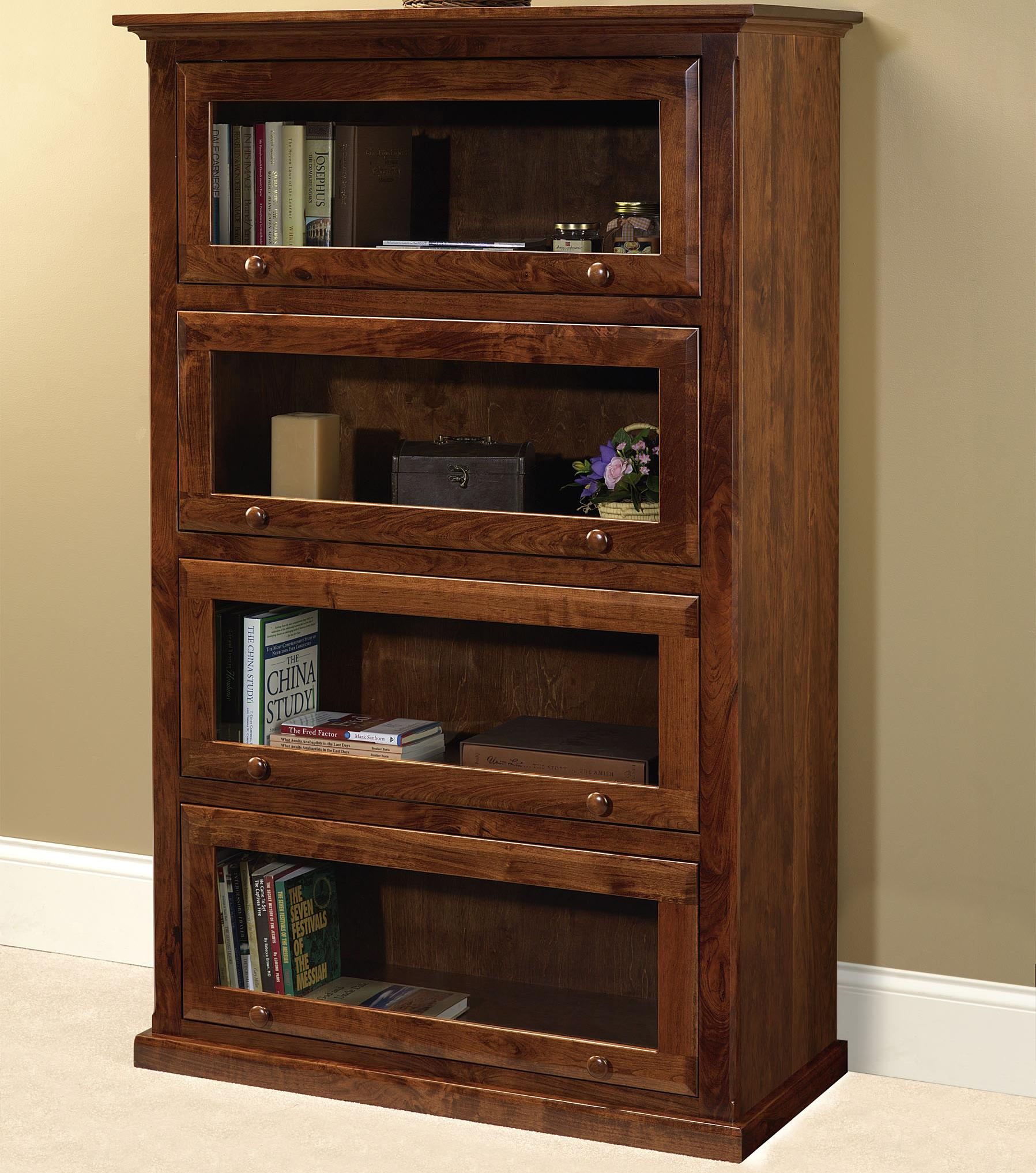 Wonder Wood Bookcases Customizable Barrister Bookcase by Wonder Wood at Saugerties Furniture Mart