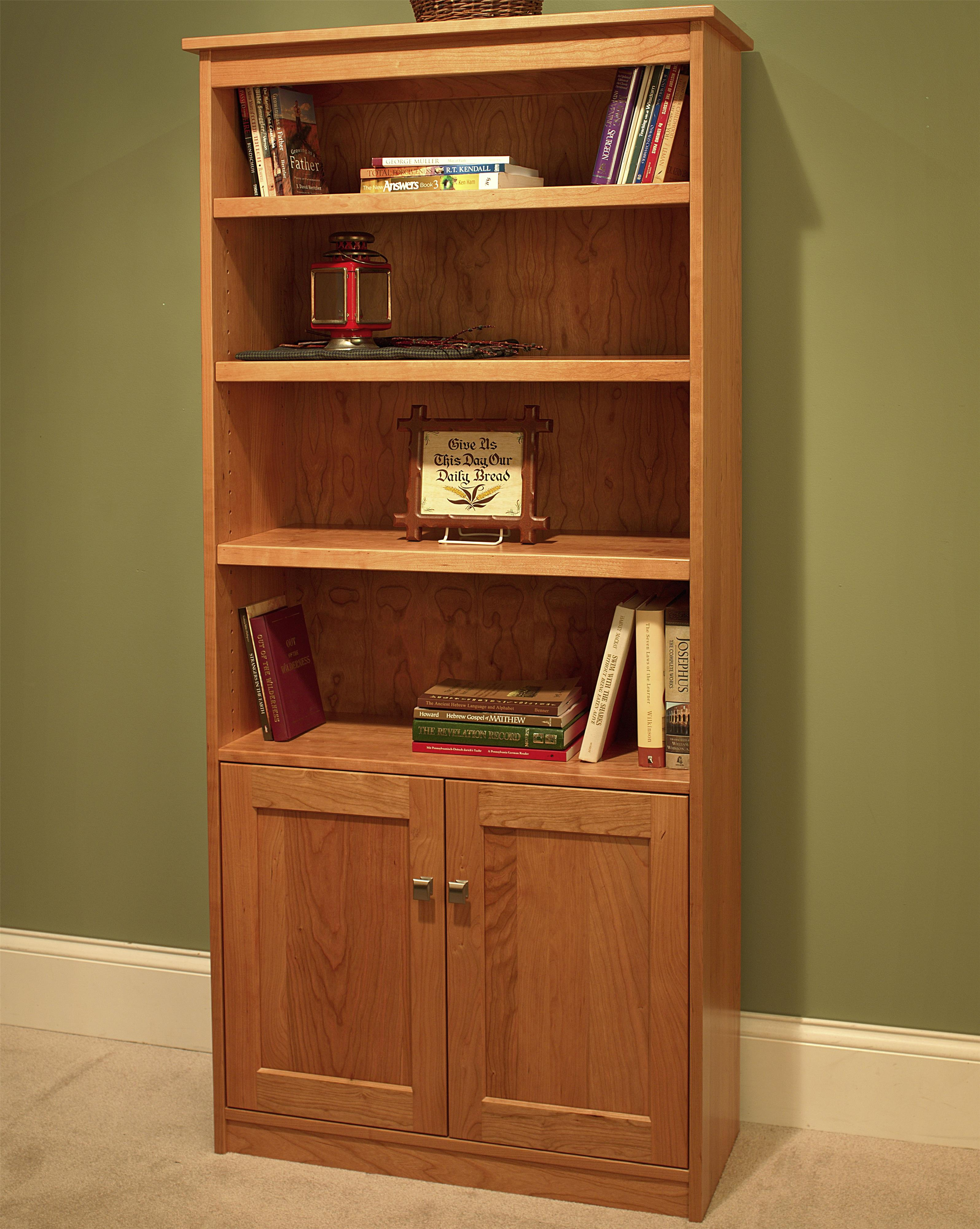 Wonder Wood Bookcases Customizable Candler Bookcase by Wonder Wood at Saugerties Furniture Mart