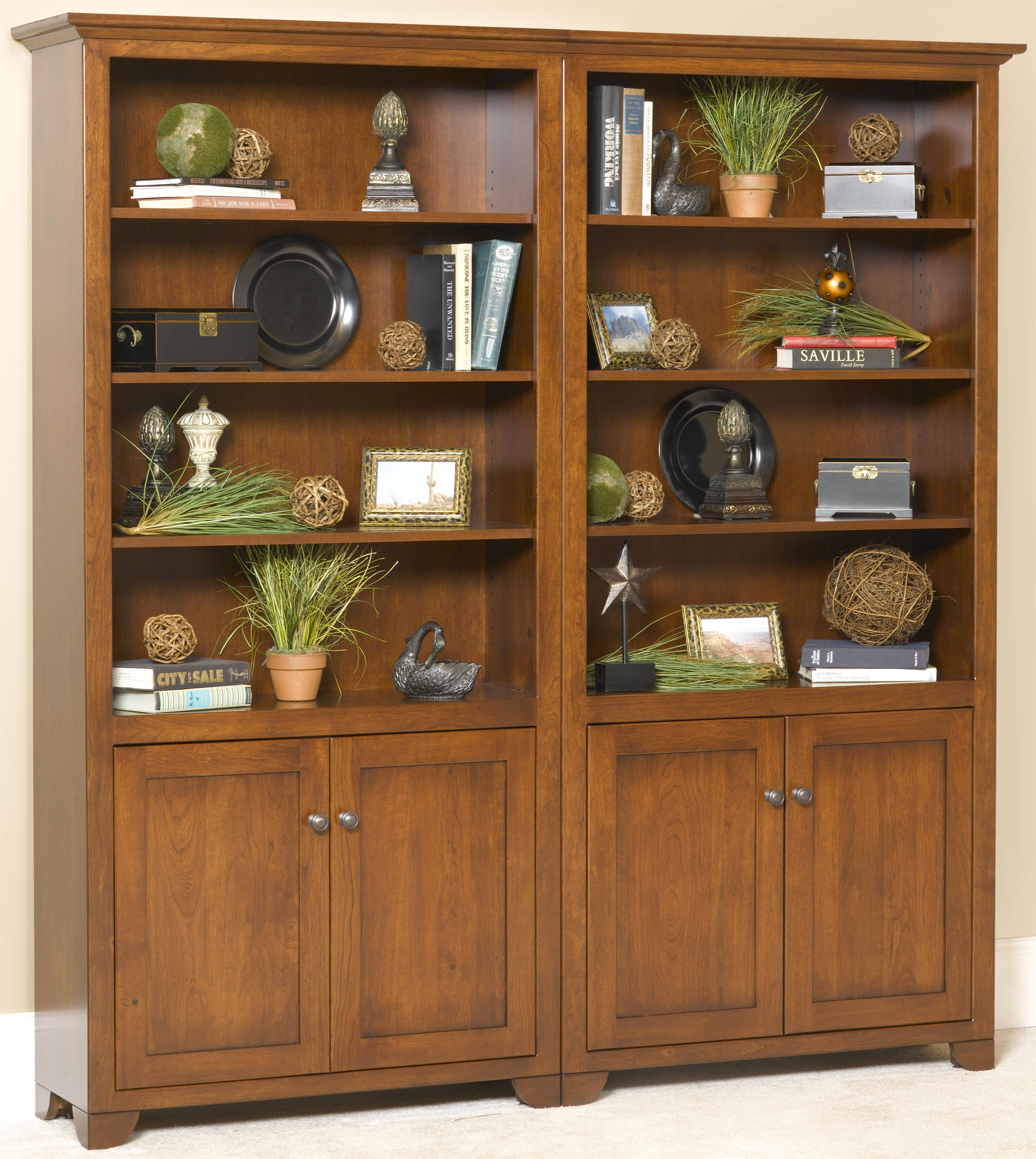 Wonder Wood Bookcases Customizable Cherry Valley Bookcase by Wonder Wood at Saugerties Furniture Mart