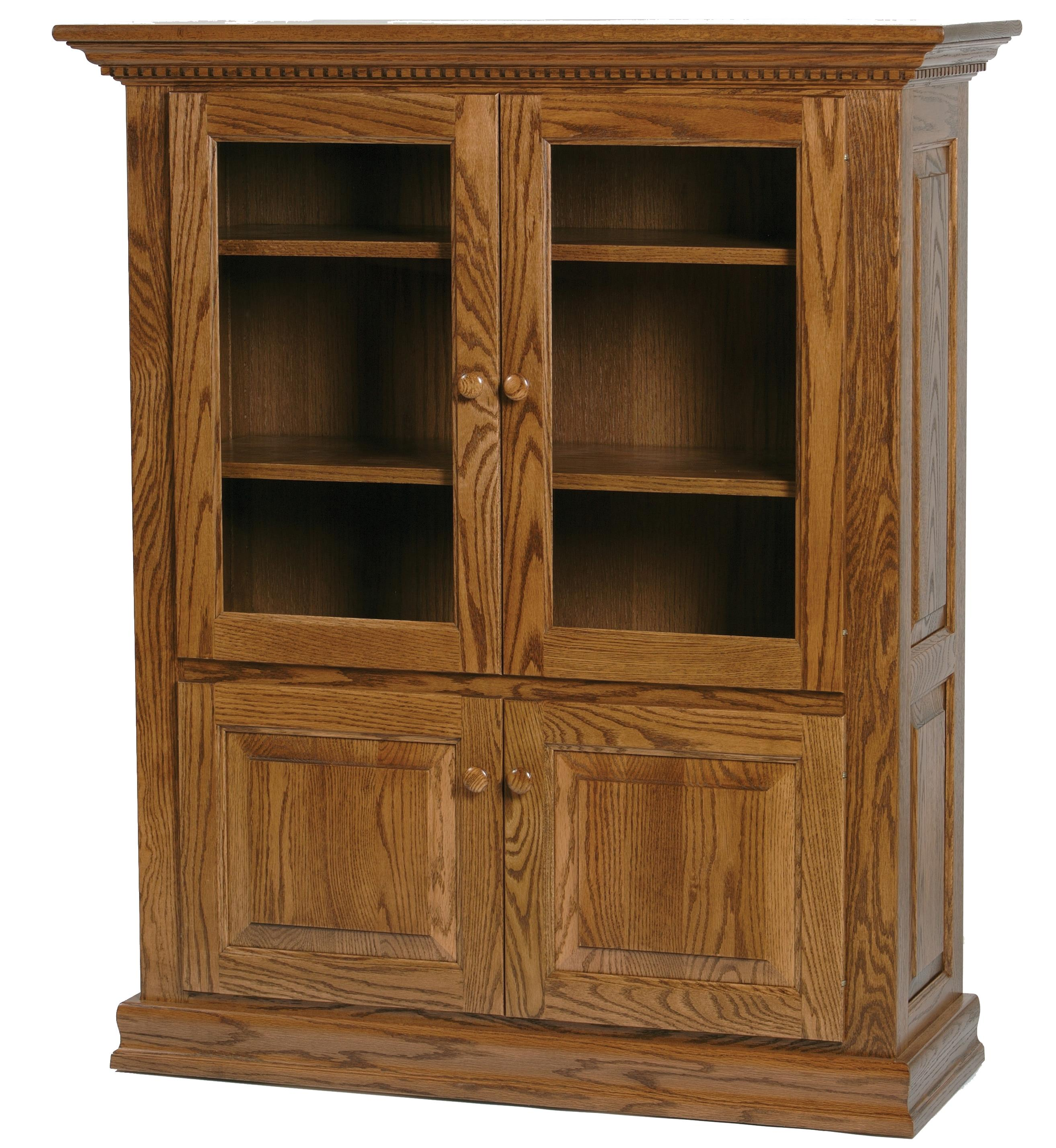 Wonder Wood Bookcases Customizable Classic Bookcase by Wonder Wood at Saugerties Furniture Mart