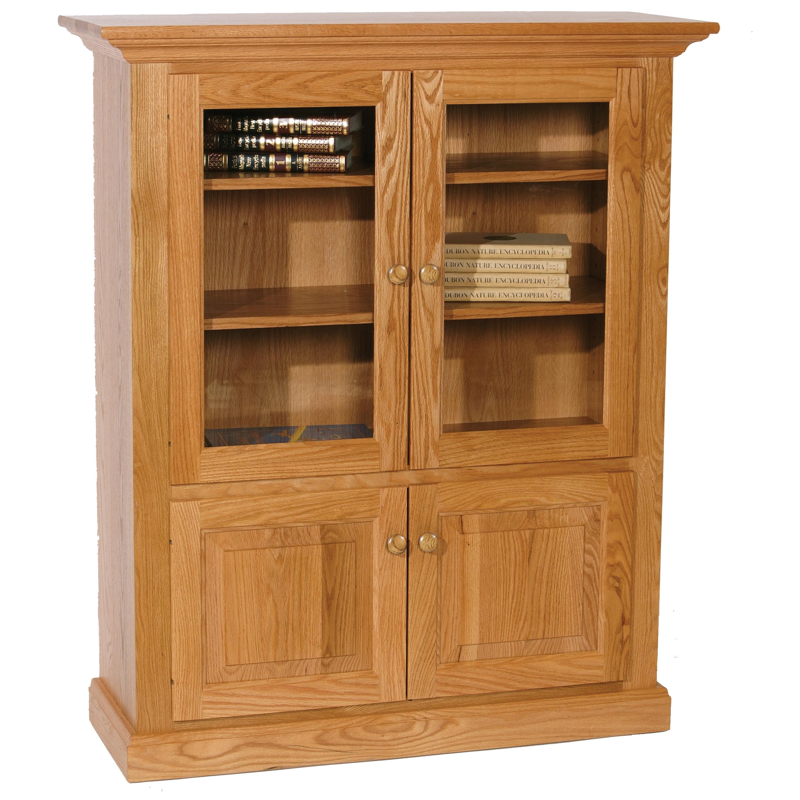 Wonder Wood Bookcases Customizable Deluxe Bookcase by Wonder Wood at Saugerties Furniture Mart