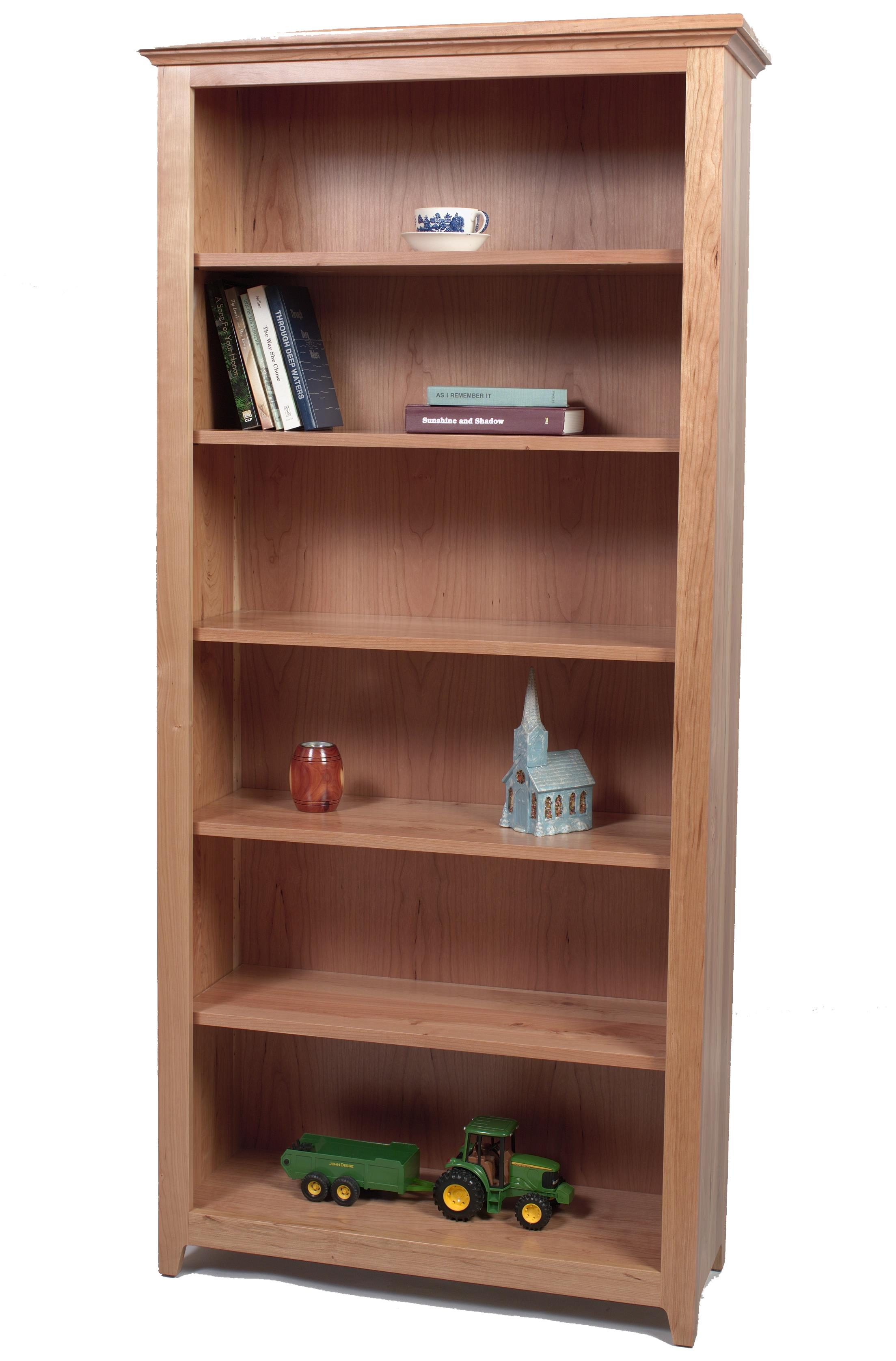 Wonder Wood Bookcases Customizable Doughty Ridge Bookcase by Wonder Wood at Saugerties Furniture Mart