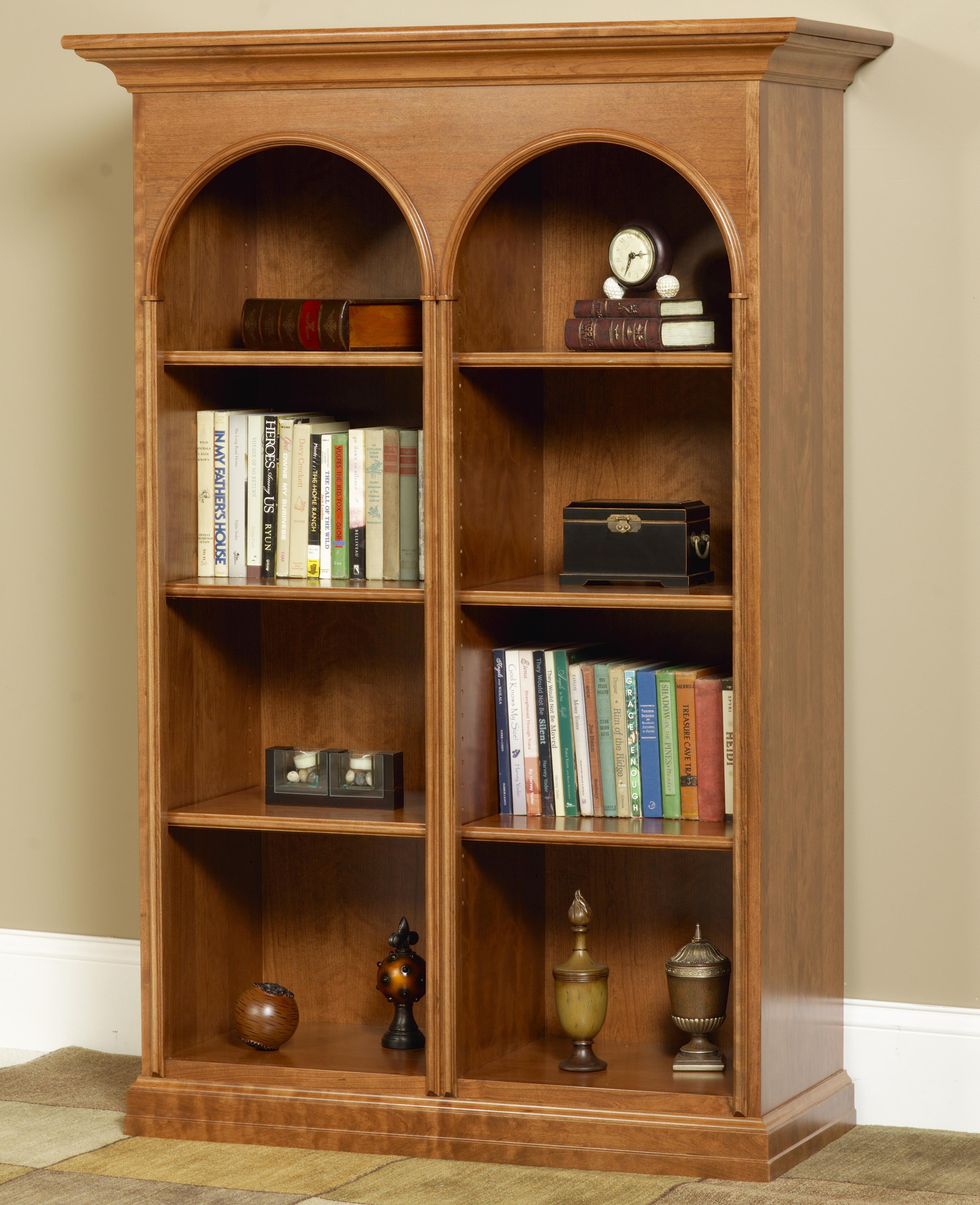 Wonder Wood Bookcases Customizable Legacy of Eloquence Bookcase by Wonder Wood at Saugerties Furniture Mart