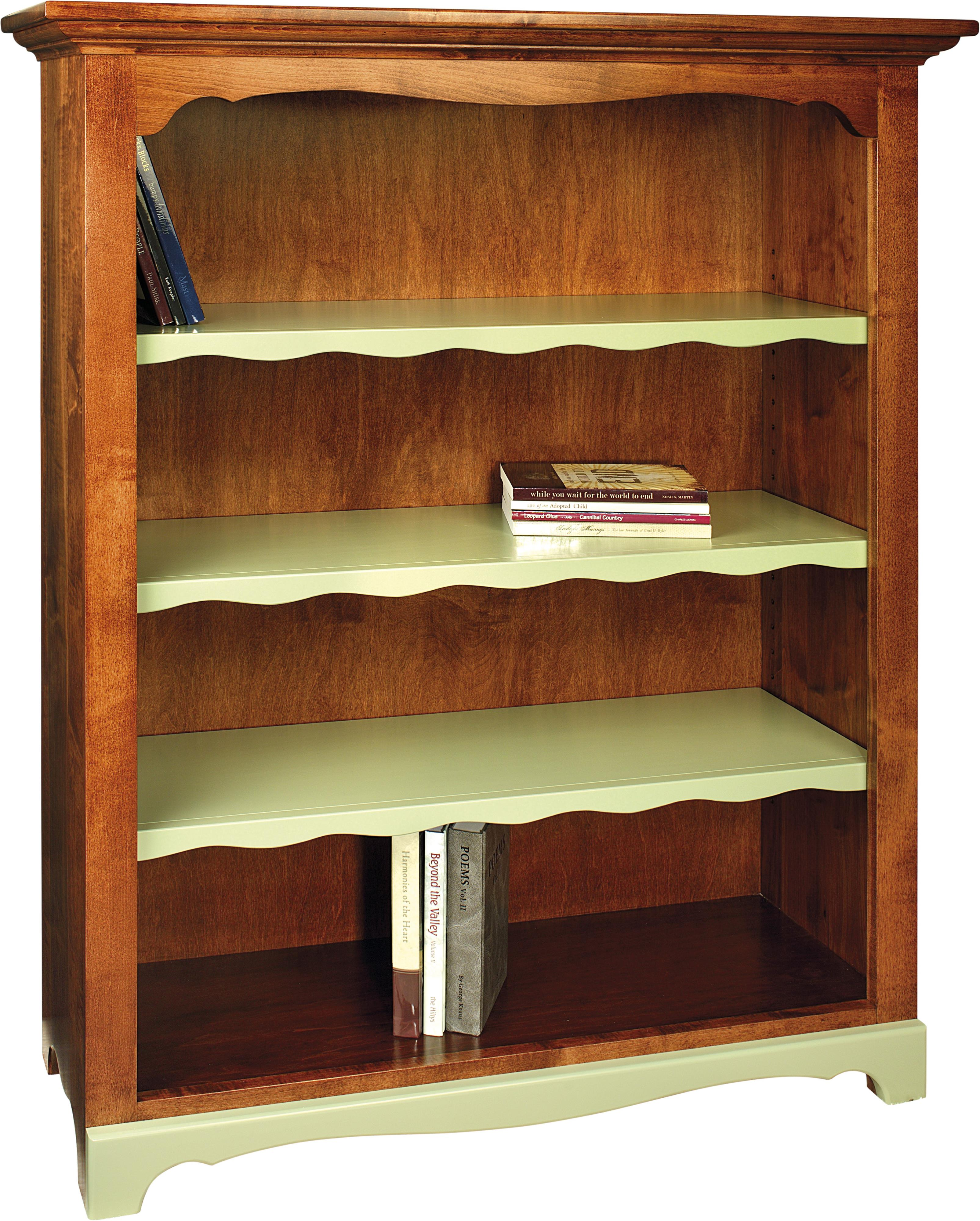 Wonder Wood Bookcases Customizable Maple Grove Bookcase by Wonder Wood at Saugerties Furniture Mart