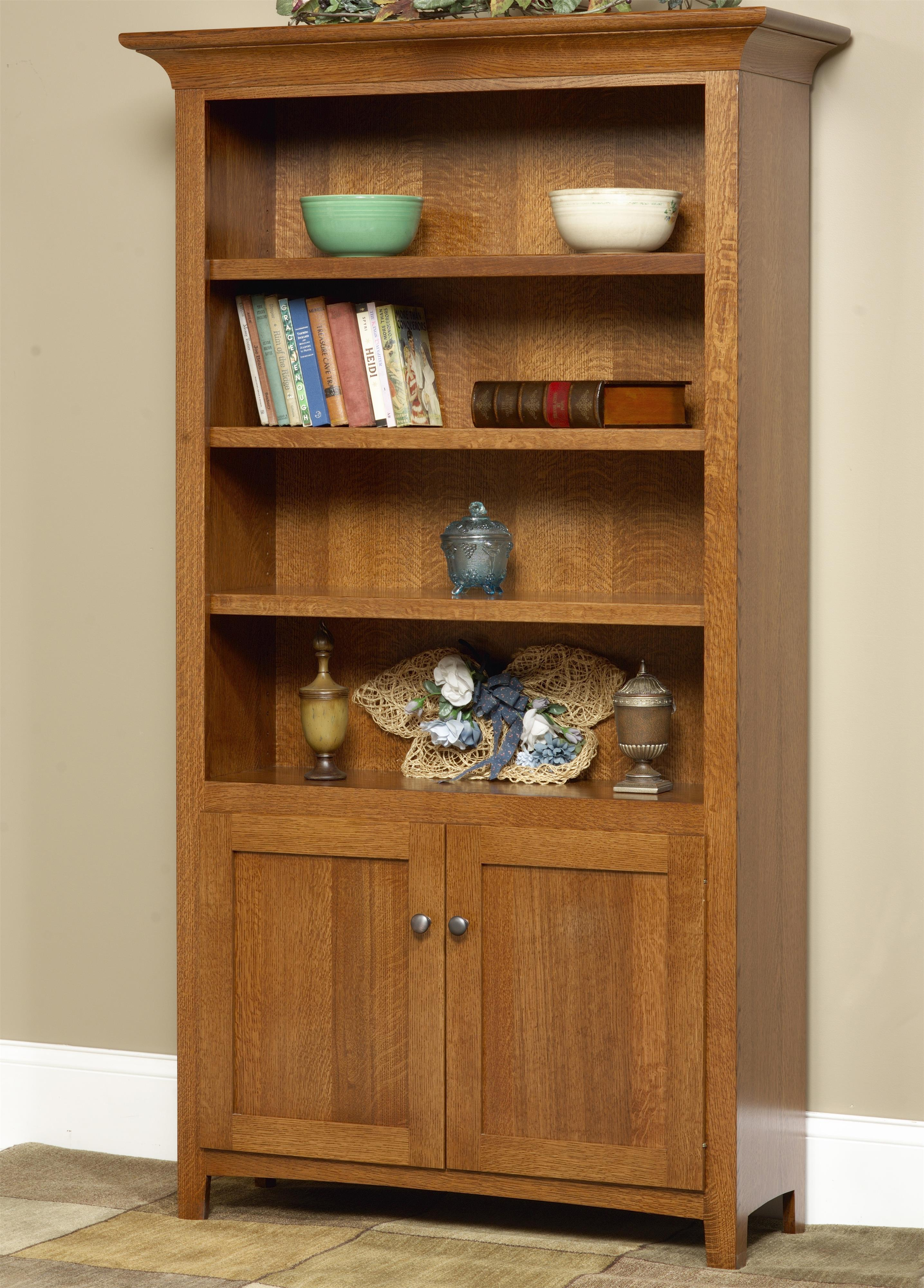 Wonder Wood Bookcases Customizable Millstone Bookcase by Wonder Wood at Saugerties Furniture Mart