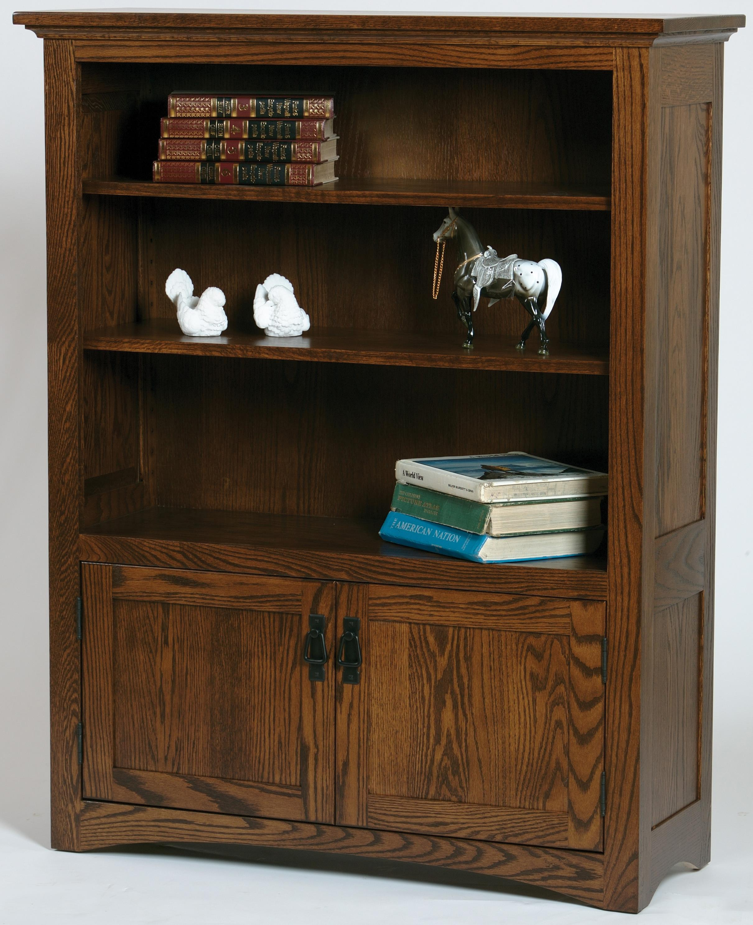 Wonder Wood Bookcases Customizable Mission Bookcase by Wonder Wood at Saugerties Furniture Mart