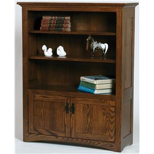 Customizable Mission Bookcase
