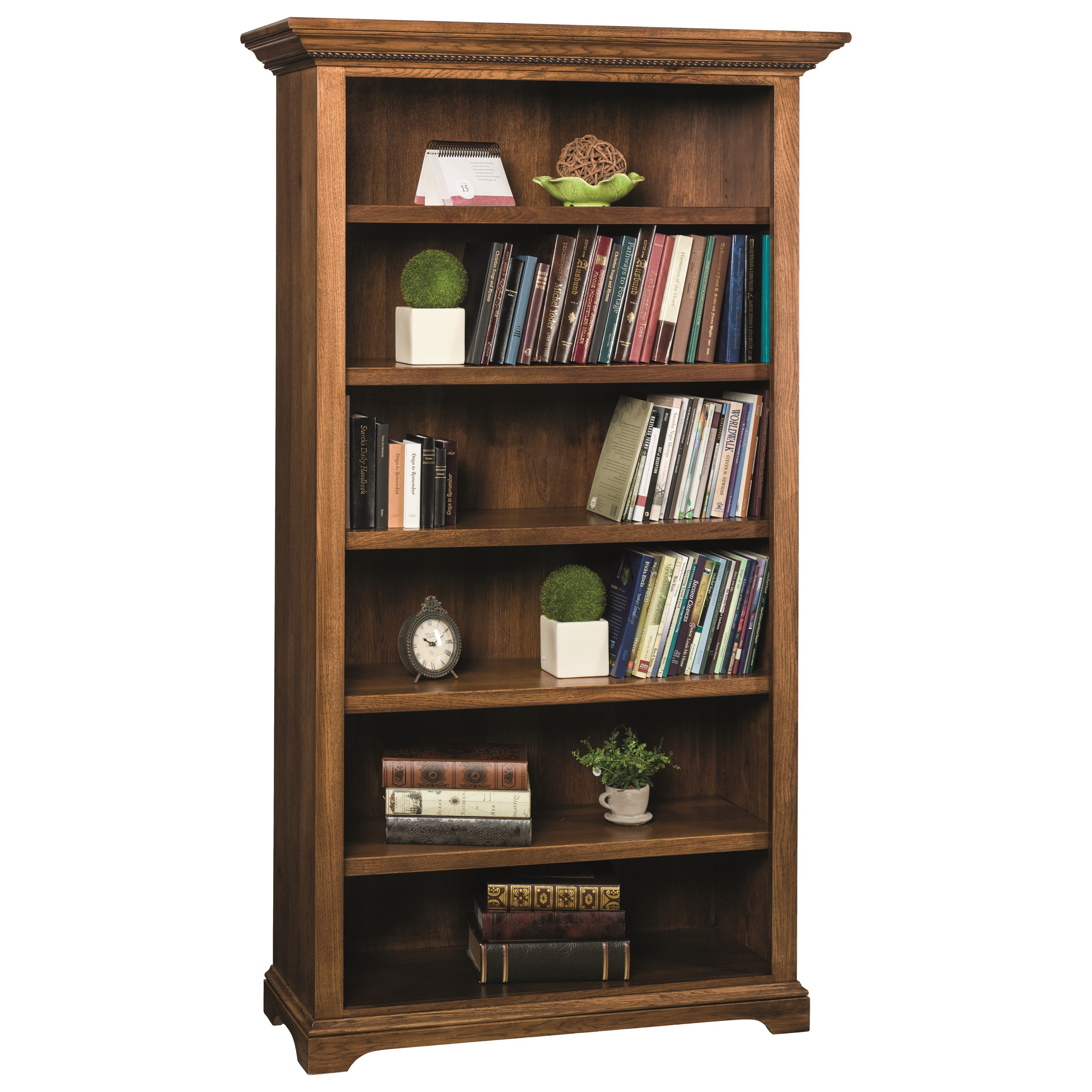 Wonder Wood Bookcases Customizable Plymouth Bookcase by Wonder Wood at Saugerties Furniture Mart