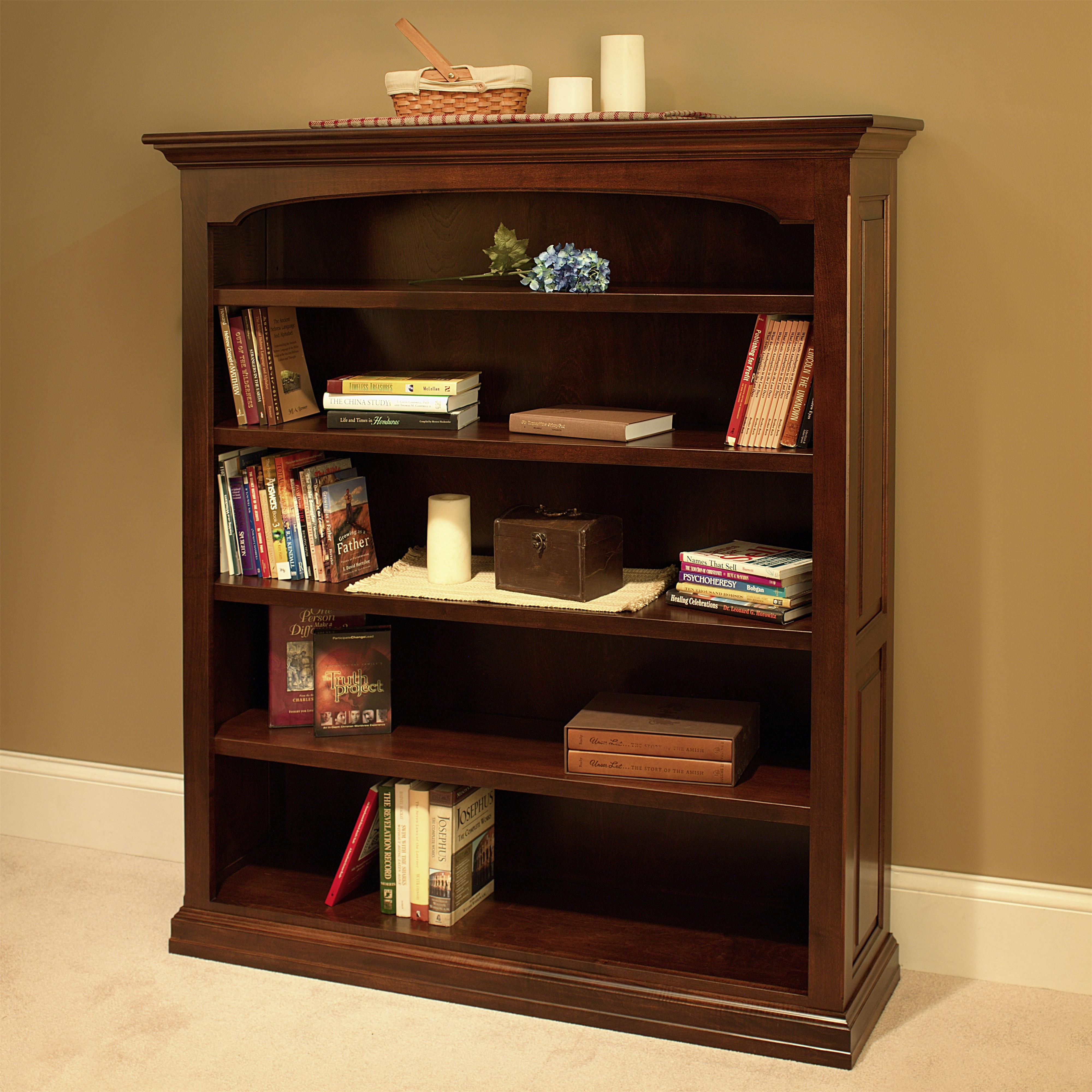 Wonder Wood Bookcases Customizable Traditional Bookcase by Wonder Wood at Saugerties Furniture Mart
