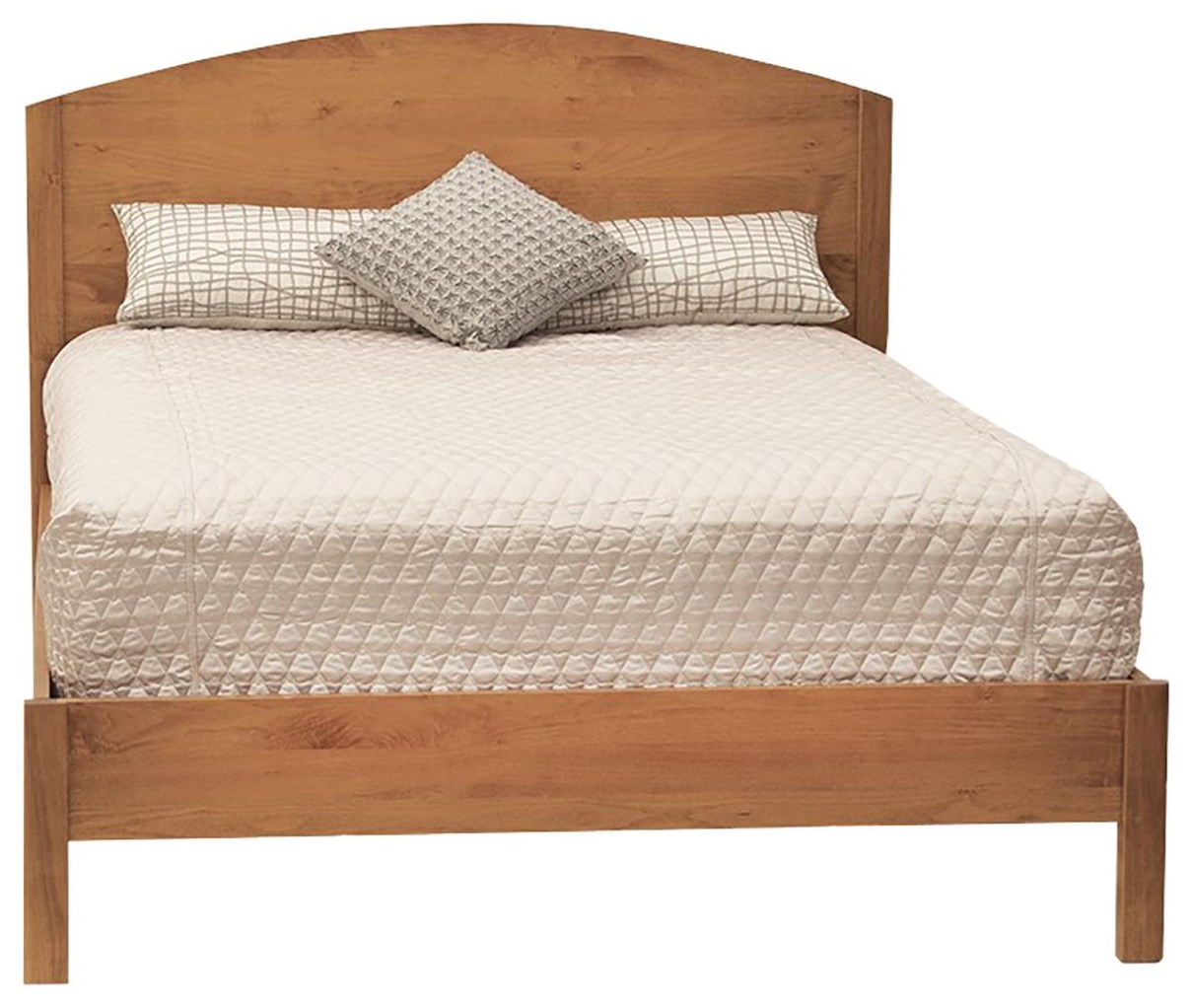 Queen Panel Bed with Low Footboard at Williams & Kay