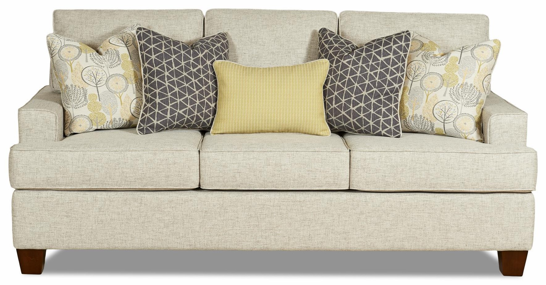 Bayside Sofa by Wood House at Crowley Furniture & Mattress