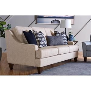Modern Sofa with Sloping Arms