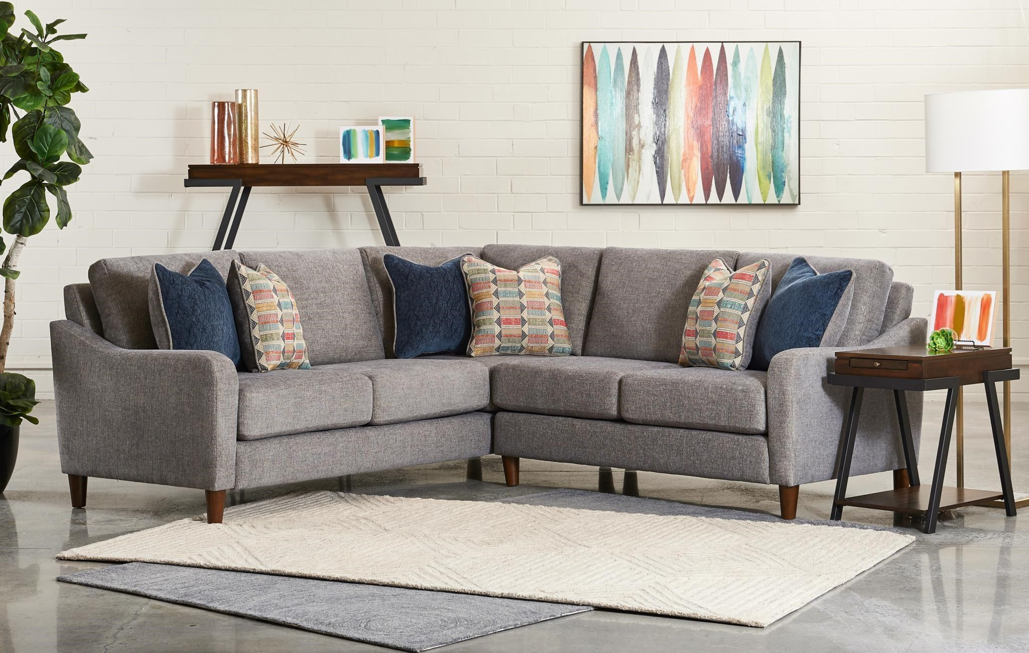 Weston L-Shaped Sectional by Wood House at Virginia Furniture Market
