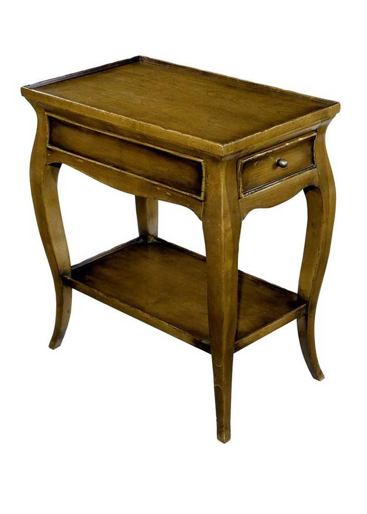 Home Accents French Drinks Table by Woodbridge at Baer's Furniture