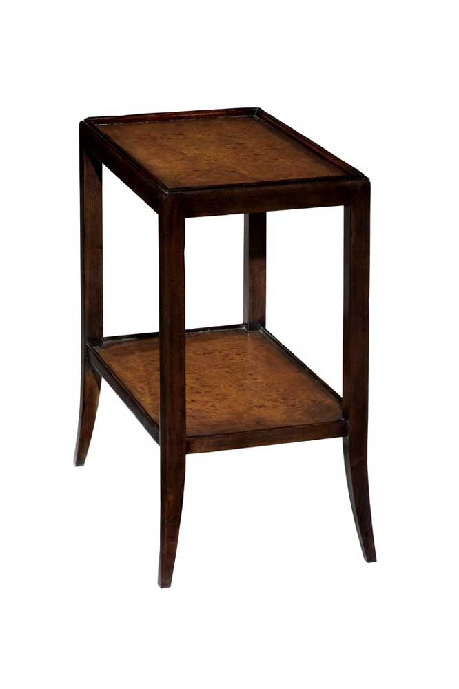 Home Accents Chairside Book Table by Woodbridge at Baer's Furniture