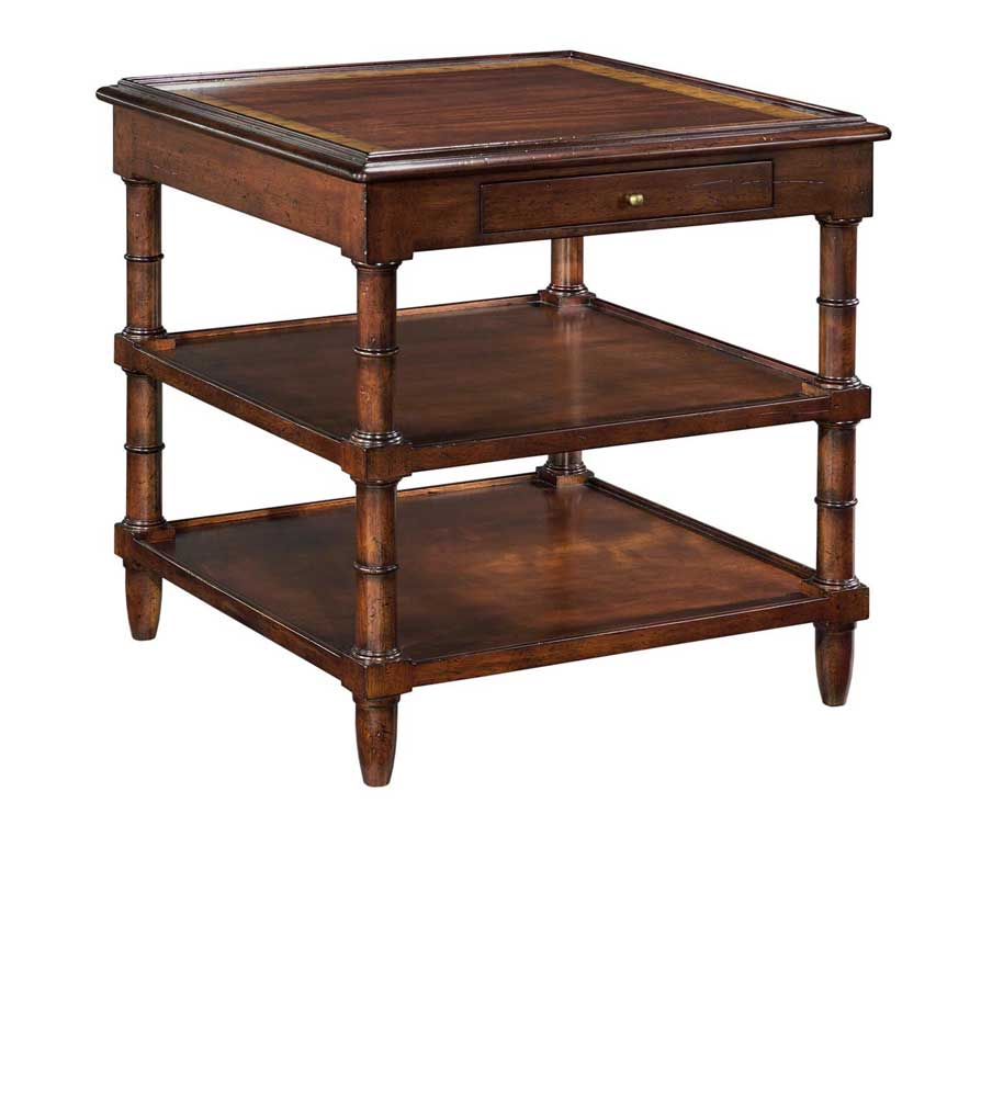 Home Accents Regency Side Table by Woodbridge at Baer's Furniture