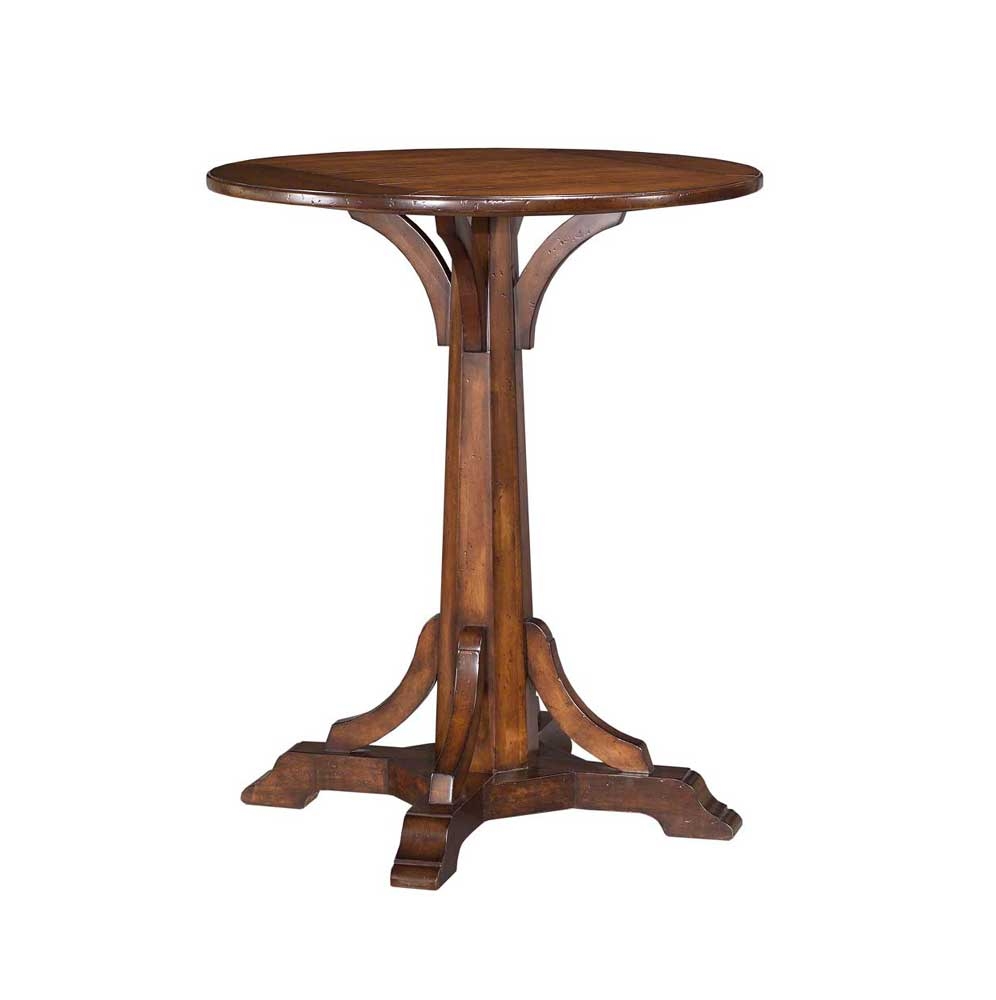 Home Accents Pugin Pub Table by Woodbridge at Baer's Furniture