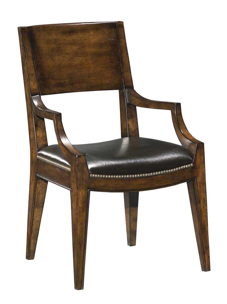 Home Accents Arm Chair by Woodbridge at Baer's Furniture