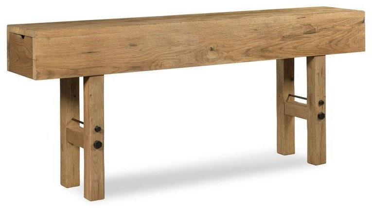 Consoles and Buffets Maker's Console Table by Woodbridge at Jacksonville Furniture Mart