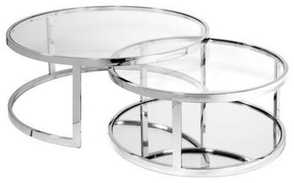 Occasional Tables, Coffee Tables Glass Coffee Table by Xcella at Upper Room Home Furnishings
