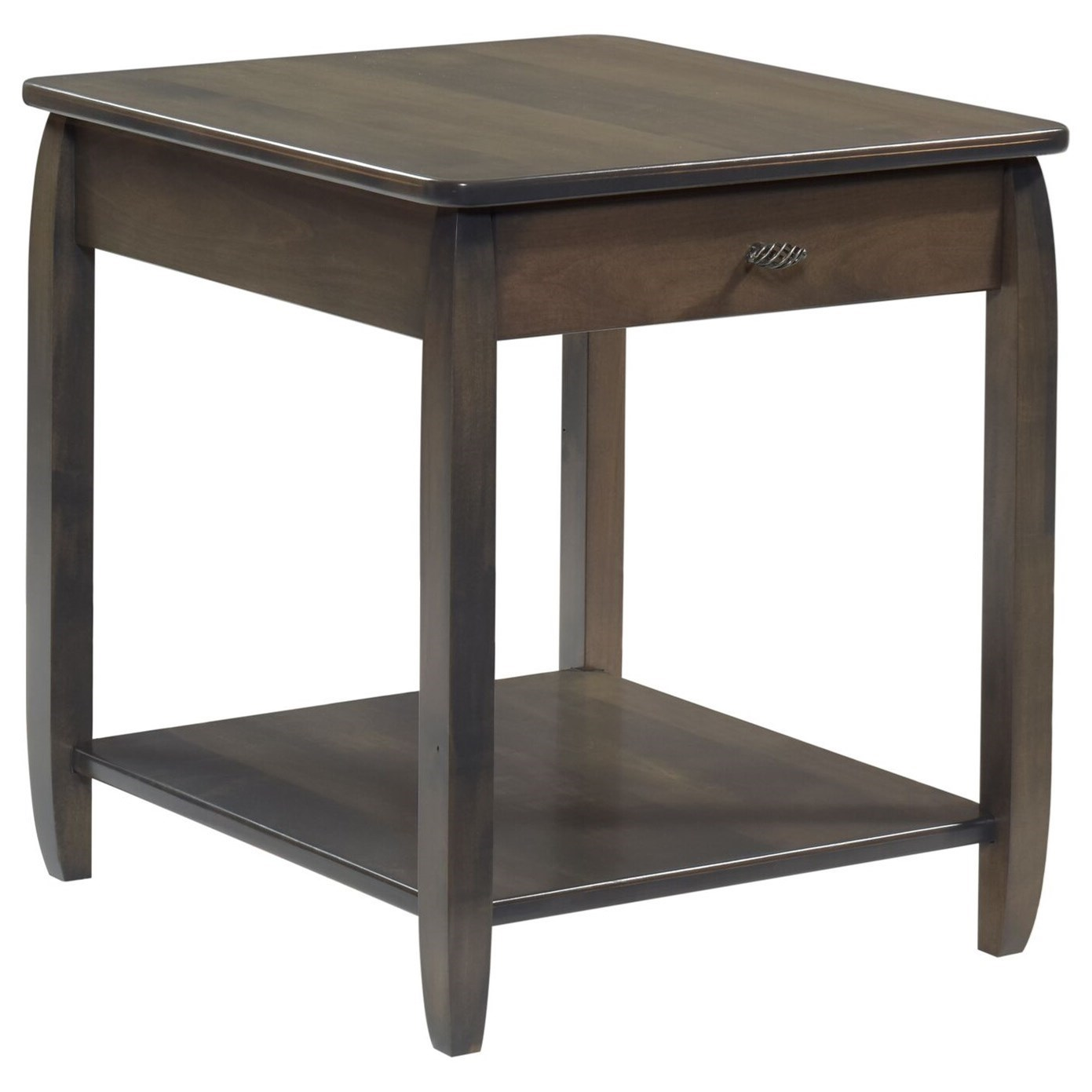 Apache End Table by Y & T Woodcraft at Saugerties Furniture Mart