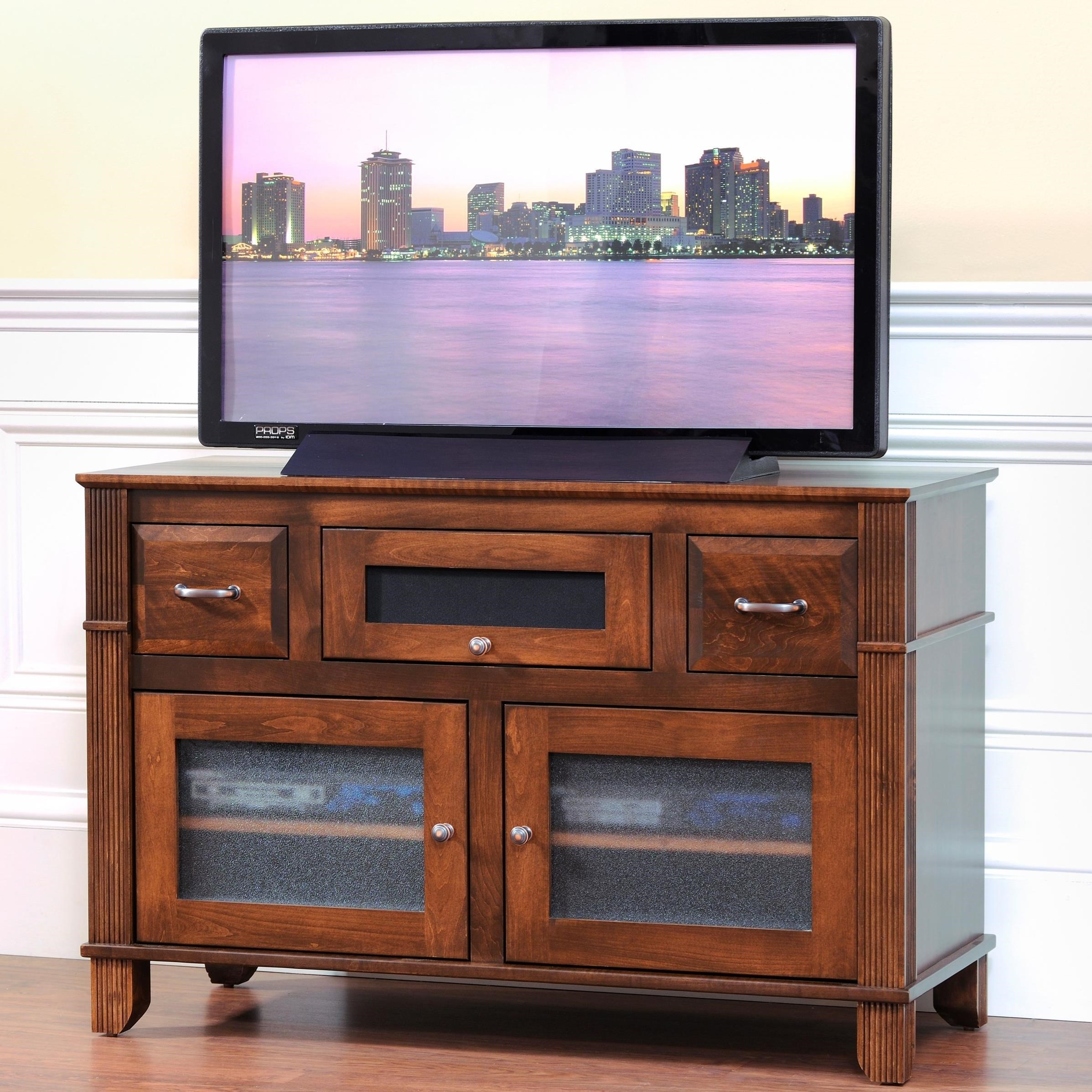 """Arlington 45"""" TV Stand by Y & T Woodcraft at Saugerties Furniture Mart"""
